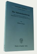 Publikation dissertation jura
